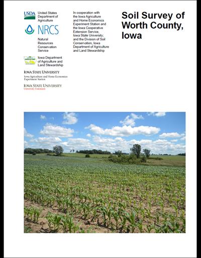 Worth County, Iowa -- Soil Survey Digital Version