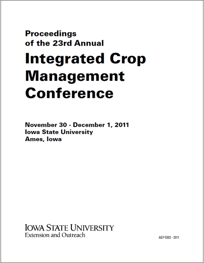 Proceedings of the 23rd Annual Integrated Crop Management Conference