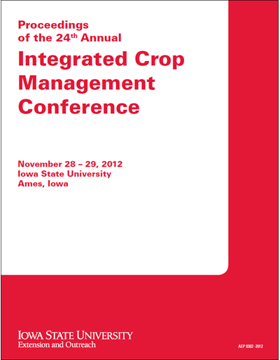 Proceedings of the 24th Annual Integrated Crop Management Conference