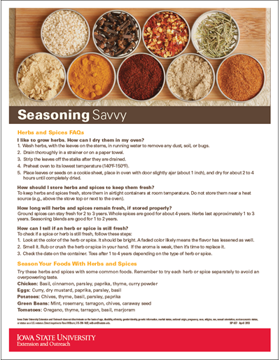 Seasoning Savvy