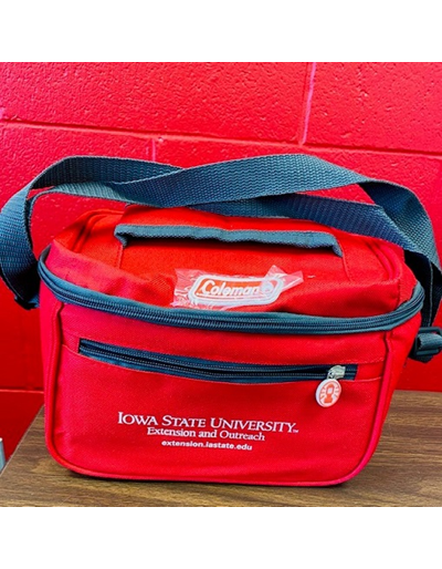 ISU Extension and Outreach Polar Sport Cooler - Red & Black