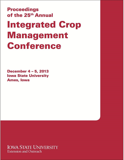 Proceedings of the 25th Annual Integrated Crop Management Conference