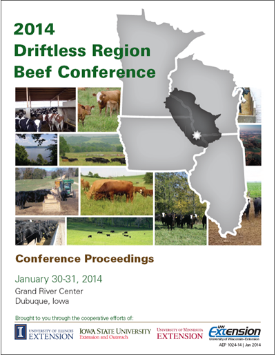 2014 Driftless Region Beef Conference Proceedings