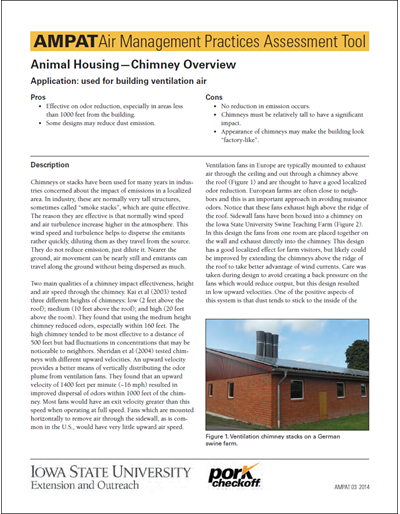 Animal Housing - Chimney Overview