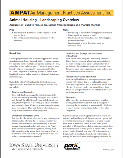 Animal Housing - Landscaping Overview