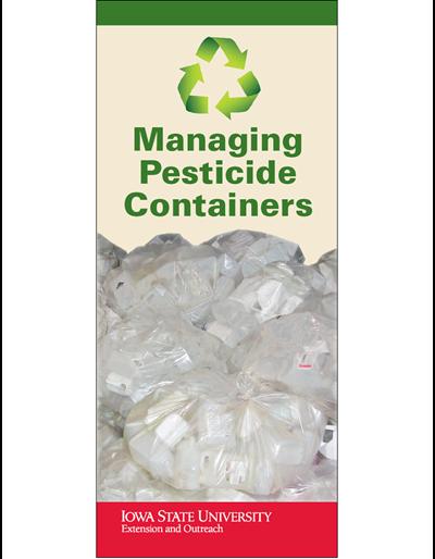 Managing Pesticide Containers