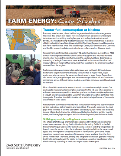 Farm Energy: Case Studies - Tractor fuel consumption at Nashua