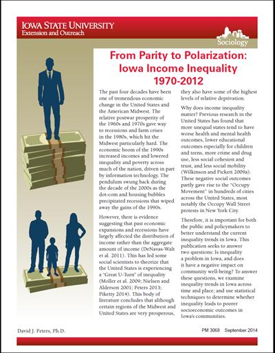 From Parity to Polarization: Iowa Income Inequality 1970-2012
