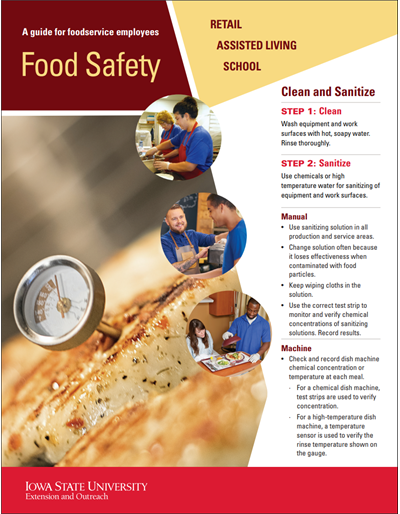 A Guide to Food Safety for Foodservice Employees