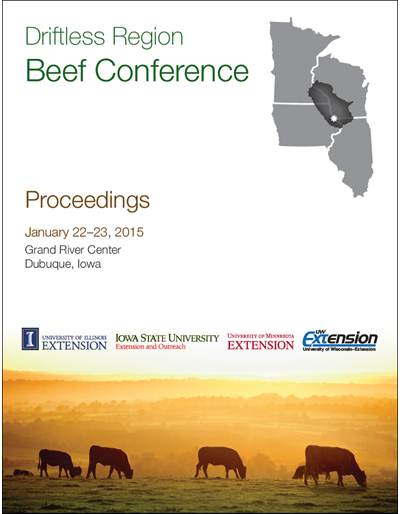 2015 Driftless Region Beef Conference proceedings