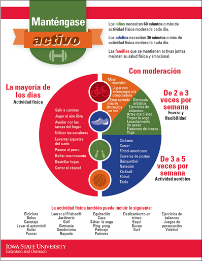 Be Active - Spanish