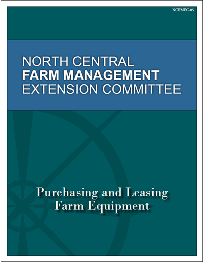 Purchasing and Leasing Farm Equipment