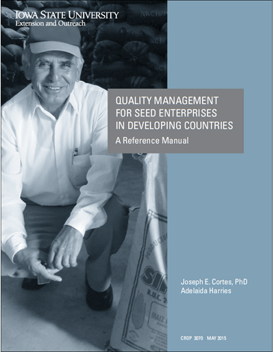 Quality Management for Seed Enterprises in Developing Countries