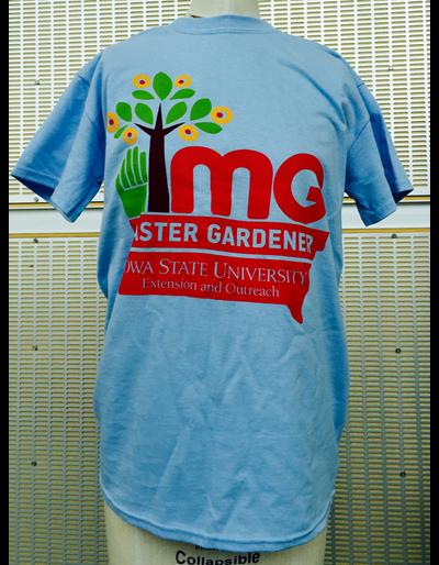 Master Gardener T-Shirt | Blue - Extra Large