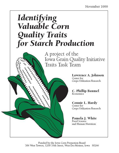 Identifying Valuable Corn Quality Traits for Starch Production