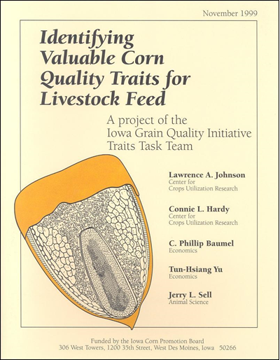 Identifying Valuable Corn Quality Traits for Livestock Feed