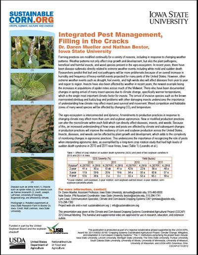 Integrated Pest Management, Filling in the Cracks