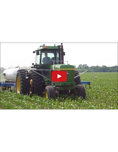Canopy Sensors & Nitrogen: Contributions to Adaptation & Mitigation to Climate Change (Video)