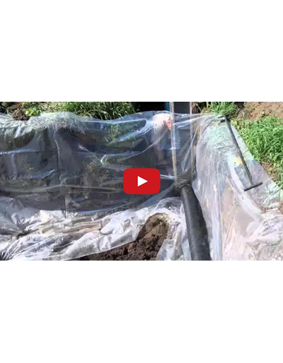Woodchip Bioreactors: removing nitrate from field tile lines (Video)