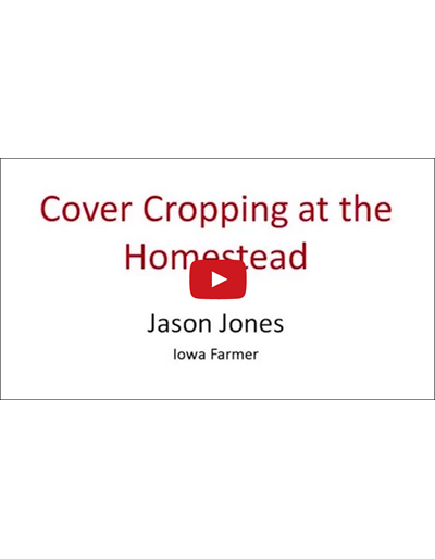 Cover Cropping at the Homestead (Video)