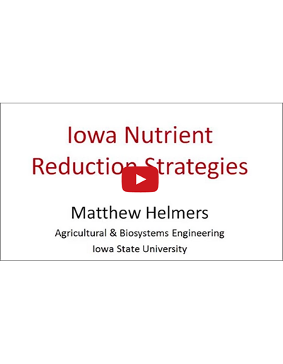 Iowa Nutrient Reduction Strategies (Video)