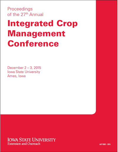 Proceedings of the 27th Annual Integrated Crop Management Conference