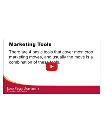 Introduction to Crop Marketing