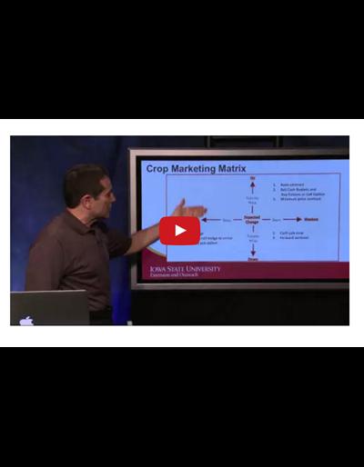 Developing a Crop Marketing Plan