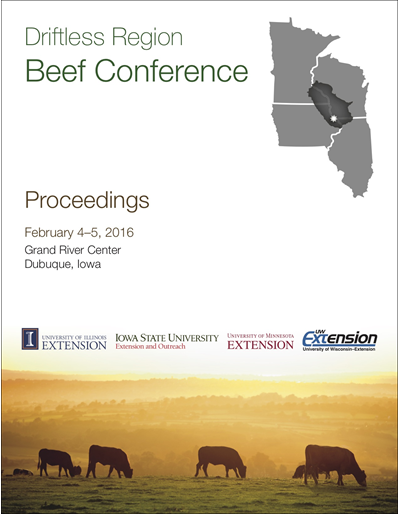 2016 Driftless Region Beef Conference proceedings