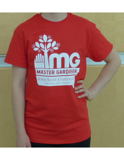 Master Gardener T-Shirt - Red Large