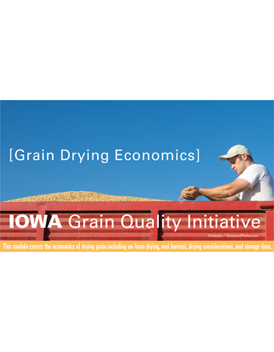 Grain Drying Economics Module