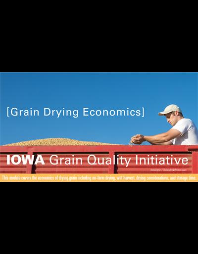 Grain Drying Economics Module