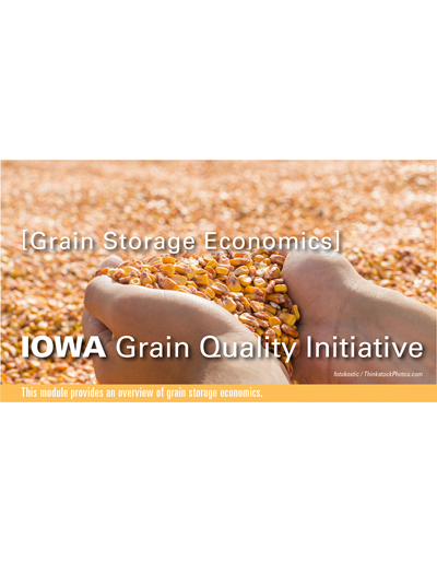 Grain Storage Economics Module