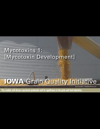 Mycotoxins 1: Mycotoxin Development Module