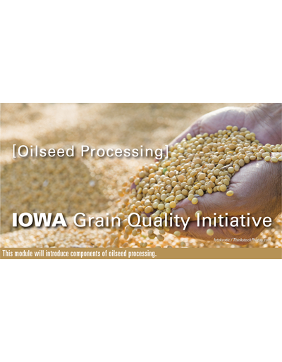 Oilseed Processing Module