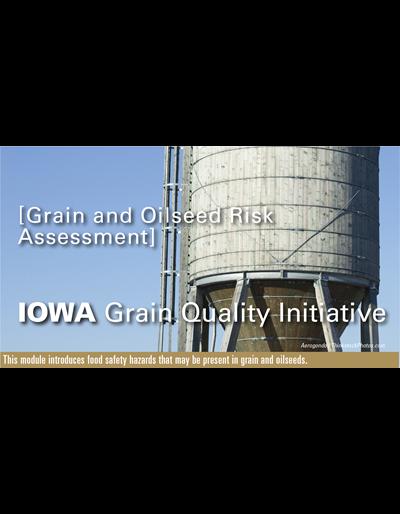 Grain & Oilseed Risk Assessment Module