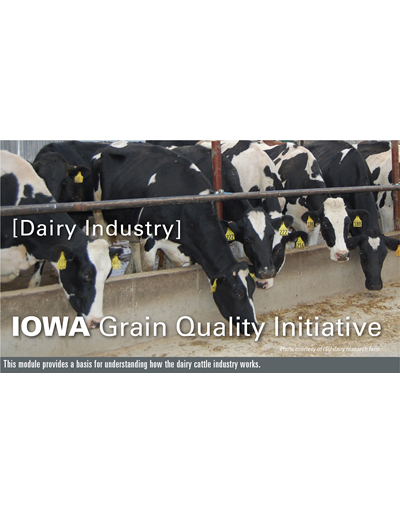 Dairy Industry Module