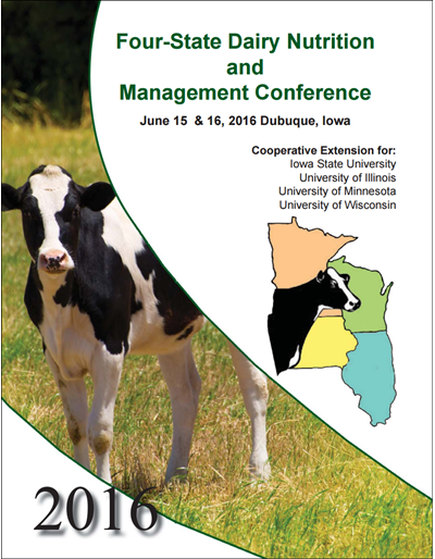 Four-State Dairy Nutrition and Management Conference Proceedings