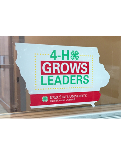 4-H Window Cling (Unit=25)