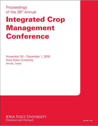 Proceedings of the 28th Annual Integrated Crop Management Conference