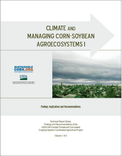 Climate and Managing Corn-Soybean Agroecosystems, Vol. 1 of 5
