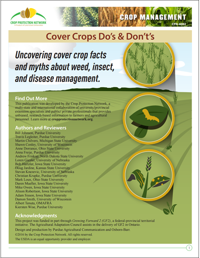 Cover Crops Do's and Don't's
