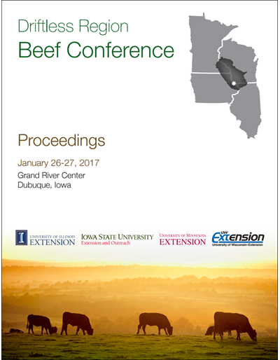 2017 Driftless Region Beef Conference proceedings