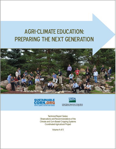 Agri-Climate Education: Preparing the Next Generation, Vol. 4 of 5