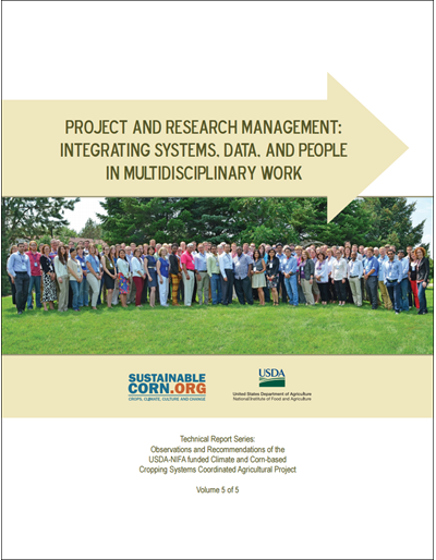 Project and Research Management: Integrating Systems, Data, and People in Multidisciplinary Work, Vol. 5 of 5