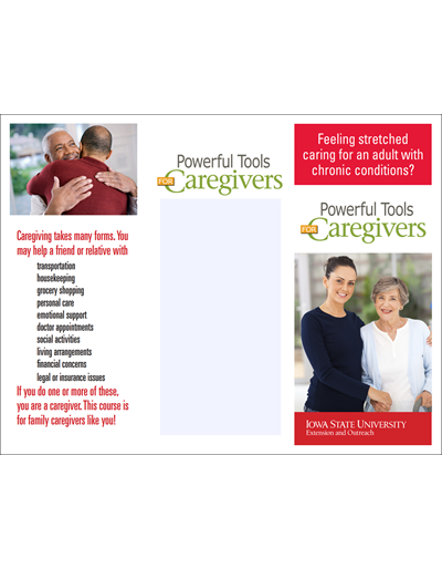 Powerful Tools for Caregivers - Adult with chronic conditions