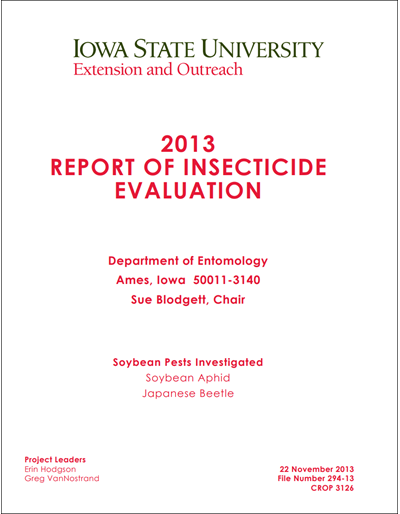 2013 Yellow book for soybean aphid