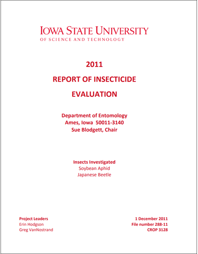 2011 Yellow book for soybean aphid