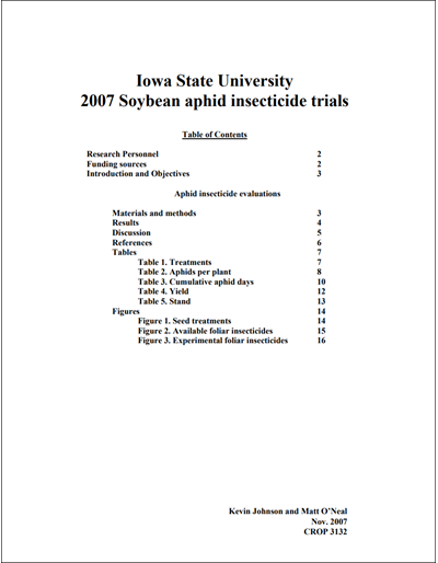 2007 Yellow book for soybean aphid