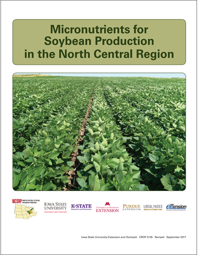 Micronutrients for Soybean Production in the North Central Region